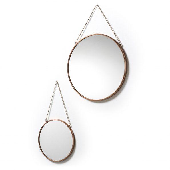 Ogledalo-NIKO-set-2-kom.-metalno-bakreno-AA0331R54