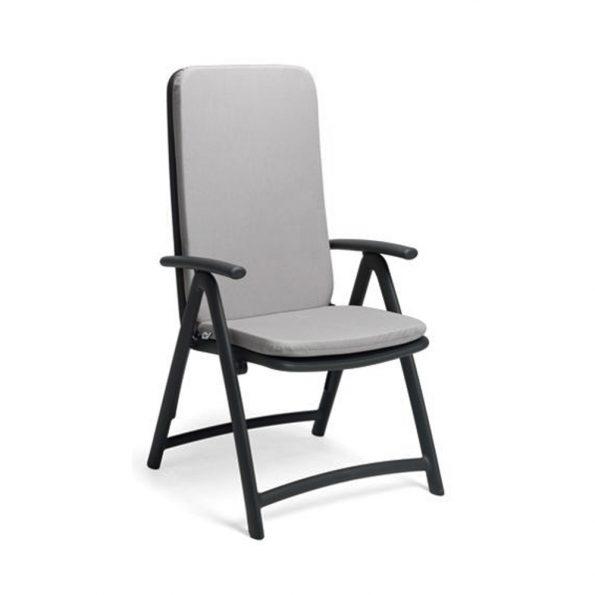 Jastuk za stolicu DARSENA, sivi