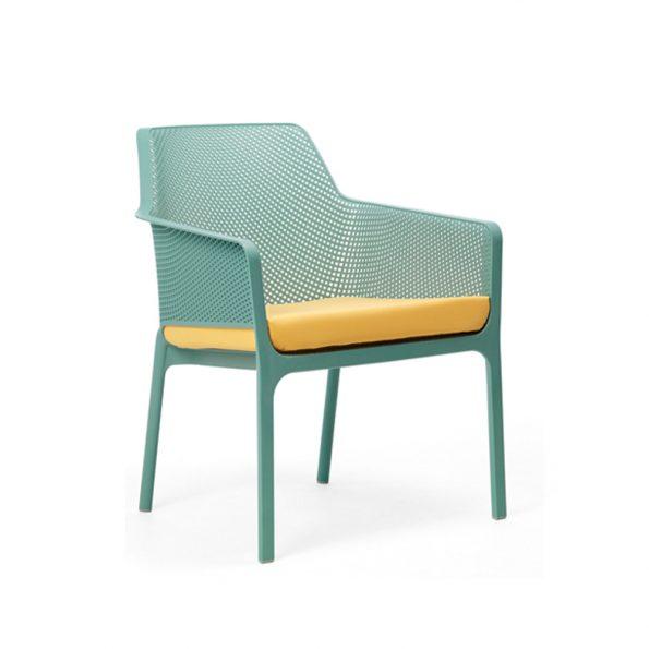Jastuk za stolicu NET RELAX, žuti