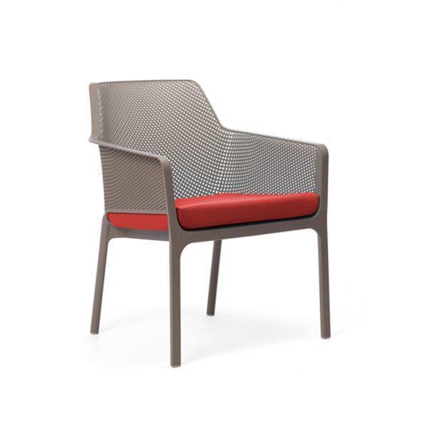 Jastuk za stolicu NET RELAX, crveni