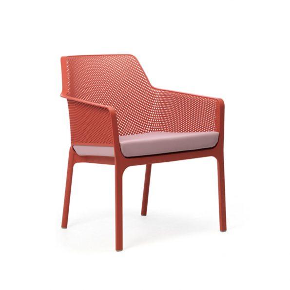 Jastuk za stolicu NET RELAX, rozi