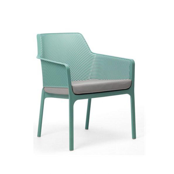 Jastuk za stolicu NET RELAX, sivi