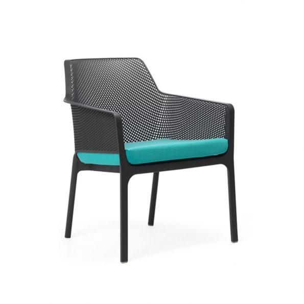 Jastuk za stolicu NET RELAX, tirkizni
