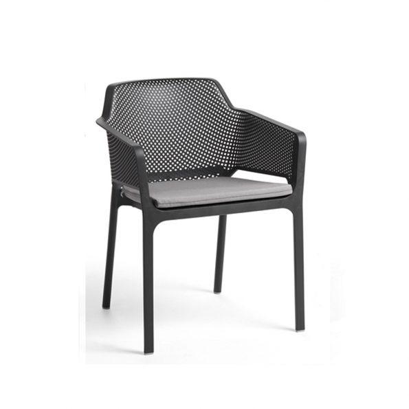 Jastuk za stolicu NET i, sivi