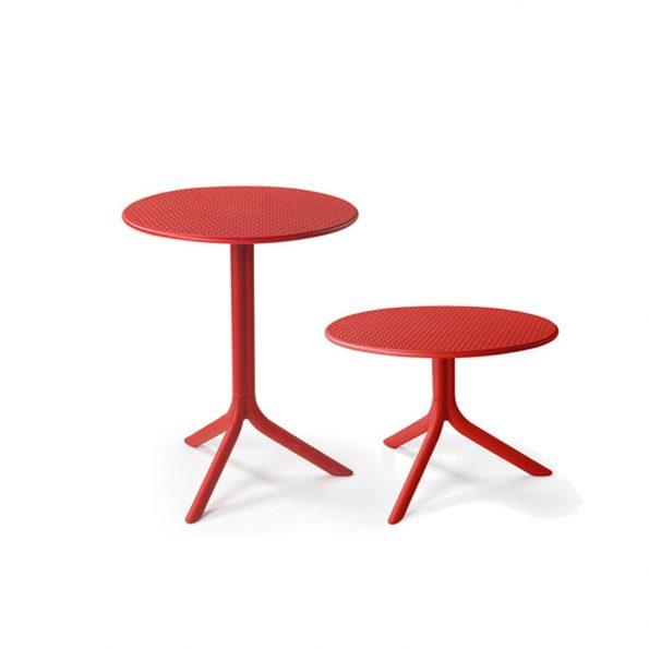 Stol za terasu STEP, crveni