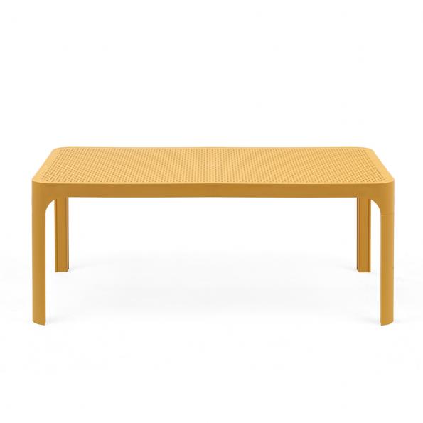 Stolić za terasu NET 100, žuti