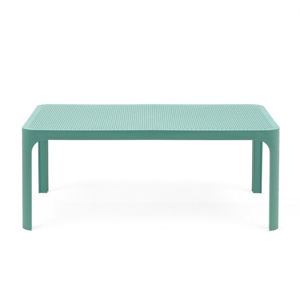 Stolić za terasu NET 100, zeleno plavi