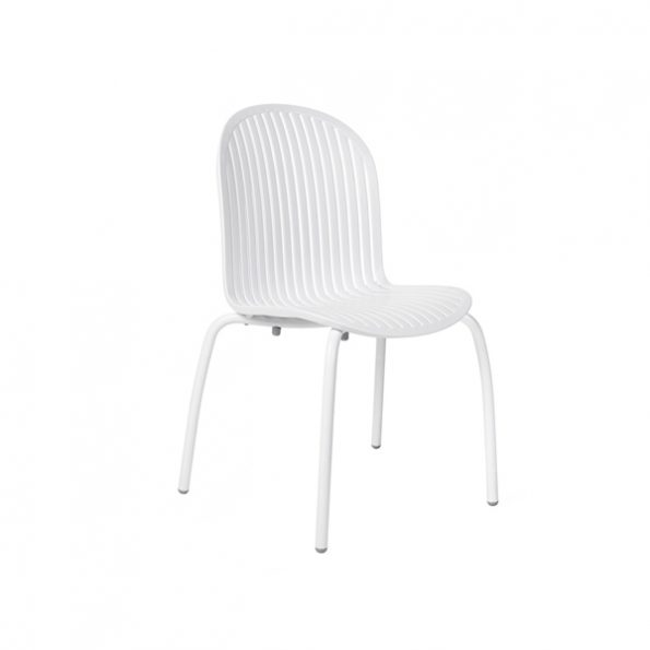 Stolica NINFEA DINNER, bijela