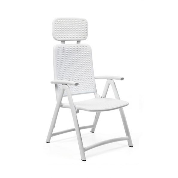 Stolica za terasu ACQUAMARINA, bijela