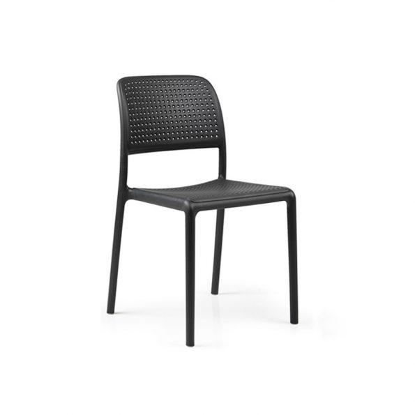 Stolica za terasu BORA BISTROT, antracit