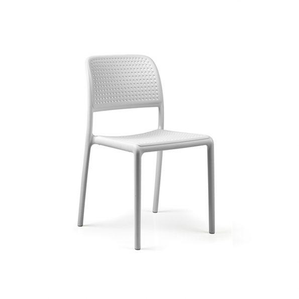 Stolica za terasu BORA BISTROT, bijela