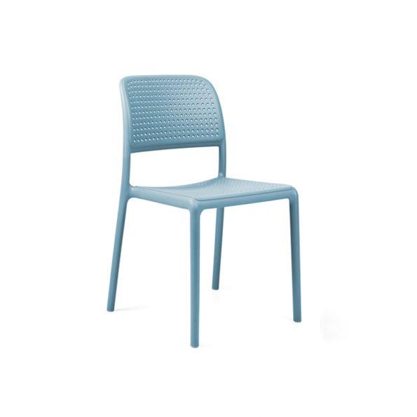 Stolica za terasu BORA BISTROT, celeste