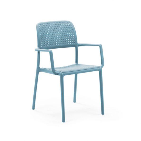 Stolica za terasu BORA, celeste