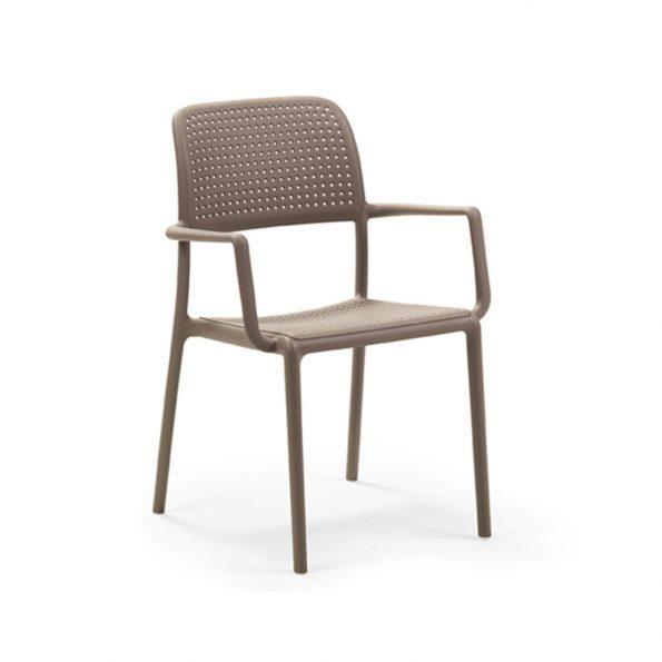 Stolica za terasu BORA BISTROT, tortora