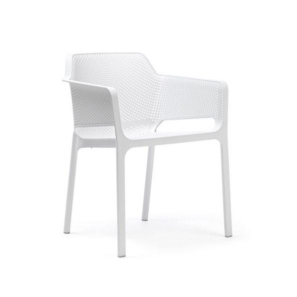 Stolica za terasu NET, bijela