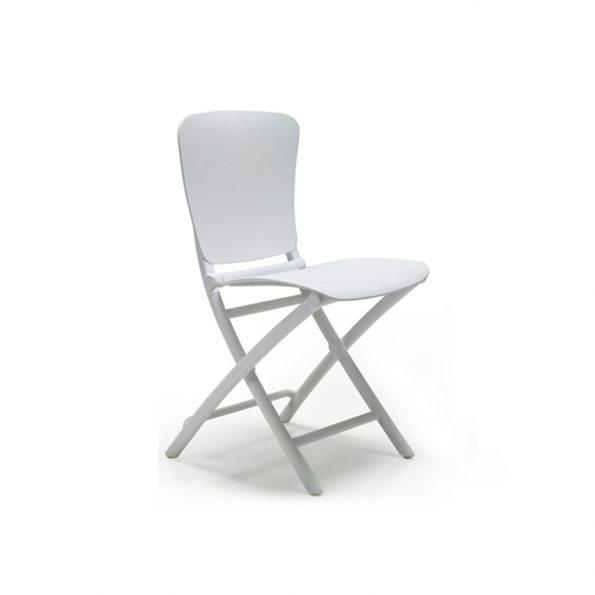 Stolica za terasu ZAC CLASSIC, bijela