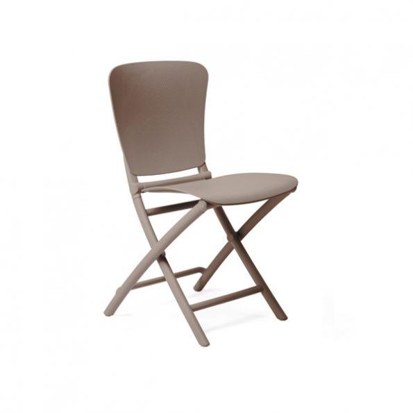 Stolica za terasu ZAC CLASSIC, tortora