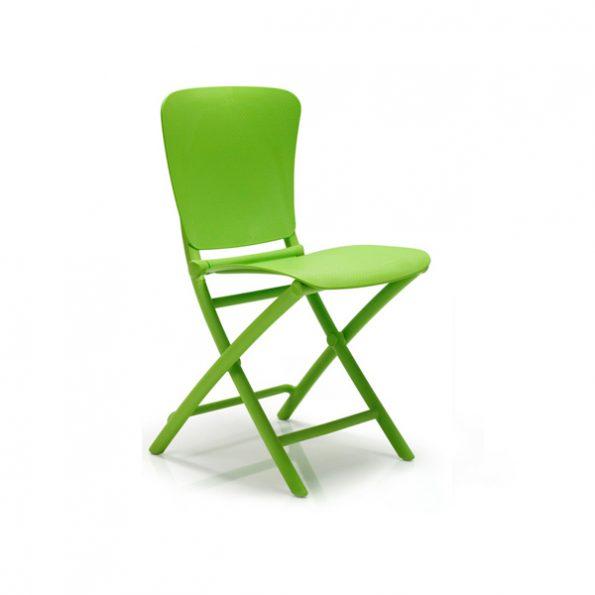 Stolica za terasu ZAC CLASSIC, zelena