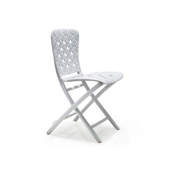 Stolica za terasu ZAC SPRING, bijela
