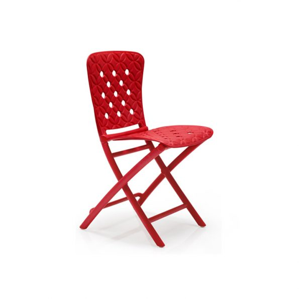 Stolica za terasu ZAC SPRING, crvena