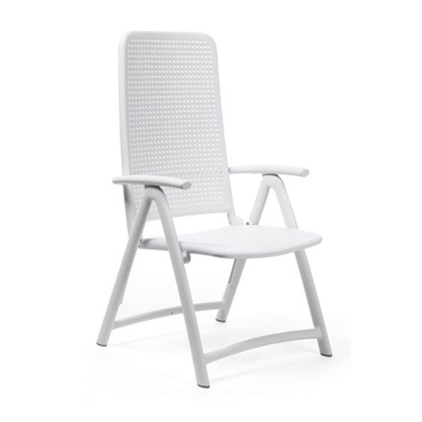 Stolica za tersu DARSENA, bijela