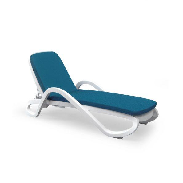 Jastuk za ležaljku EDEN i TROPICO, plavi