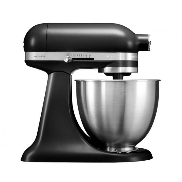 KitchenAid 3.3 L samostojeći mikser Artisan Mini Black Matte