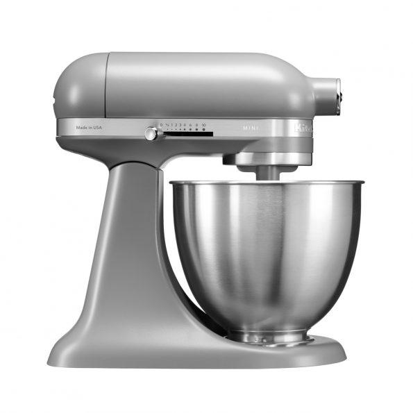 KitchenAid 3.3 L samostojeći mikser Artisan Mini Matte Grey