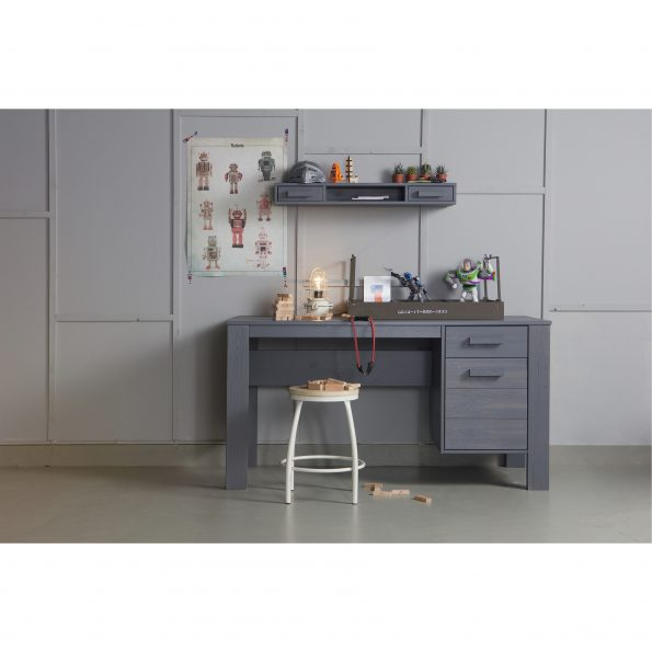Radni stol DENNIS steelgrey [fsc]