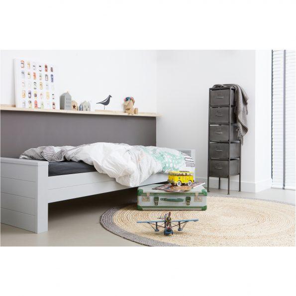 Krevet DENNIS, concrete grey [fsc]