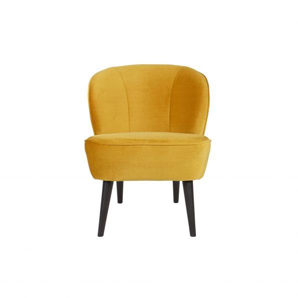 Fotelja SARA, velvet ochre