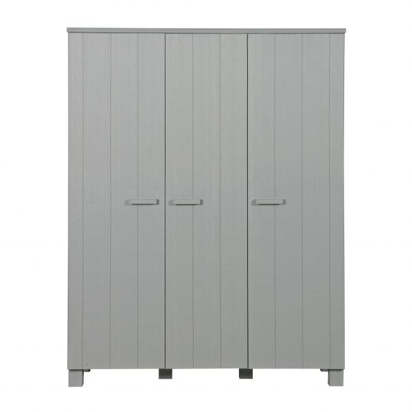 Ormar trokrilni DENNIS, concrete grey [fsc]