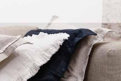 Ukrasne jastučnice posteljina